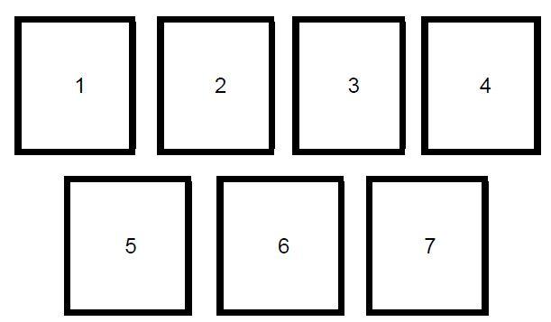 Расклад 7 карт